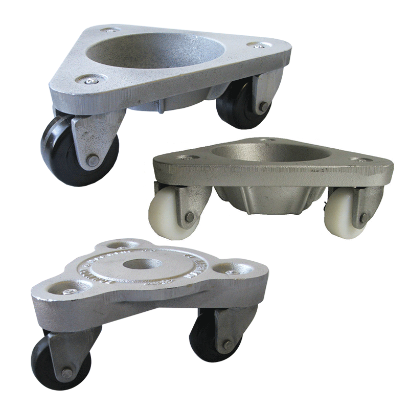 Leg Support Dollies With A Recessed Center To Hold Or Foot View Products Cradle Low Profile For Moving